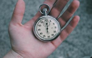deadline op stopwatch